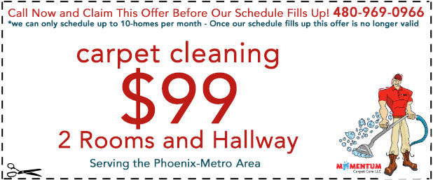 Carpet Cleaning Savings Phoenix AZ