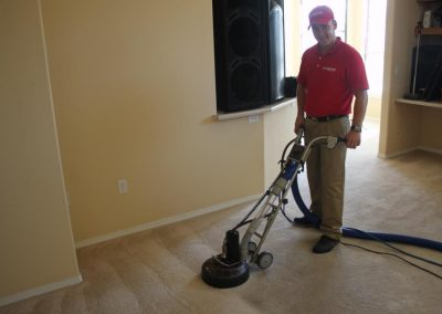 Before and After Carpet Cleaning