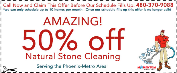 Natural Stone Cleaning Special