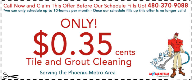 Tile Grout Cleaning Special Phoenix