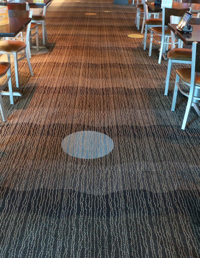 After - Main Event Commercial Carpet Cleaning Job