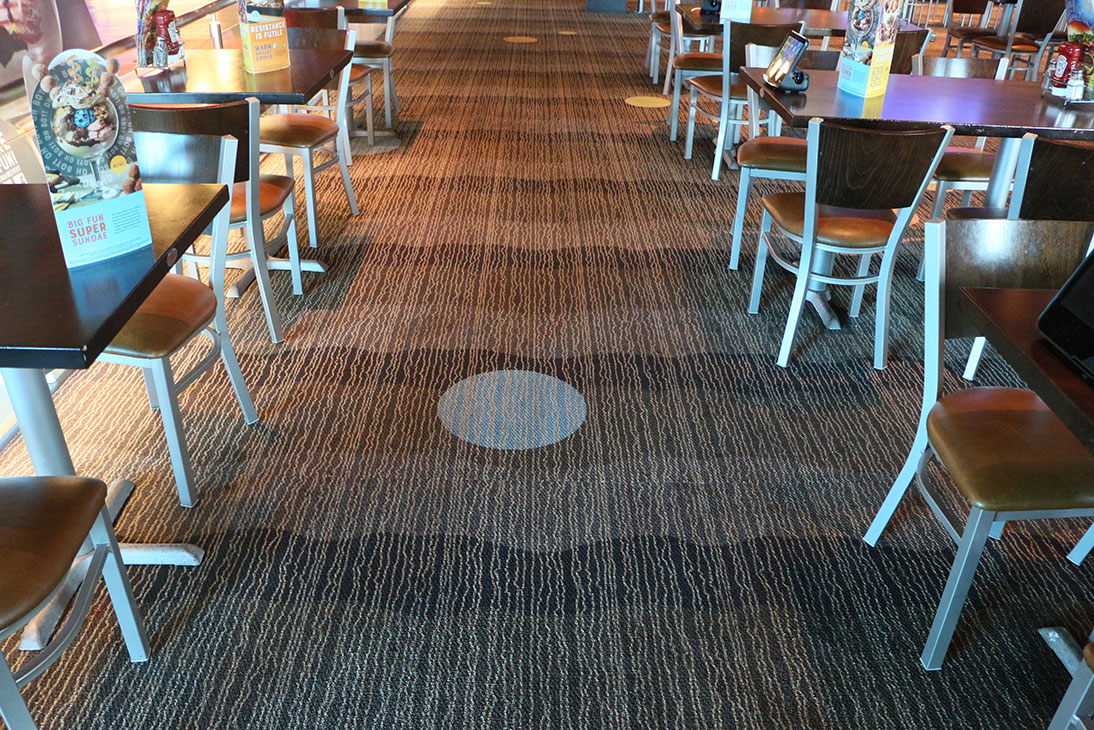 Commercial Carpet Cleaning job at Main Event in Avondale AZ