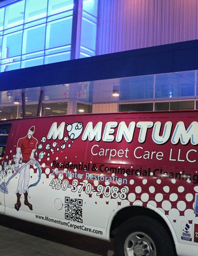 Momentum Carpet Care is the Official Carpet Cleaner of Main Event Entertainment in Arizona