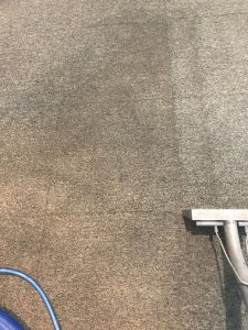 Commercial Carpet Cleaning Job at Pilgrim Rest Baptist Church in Phoenix