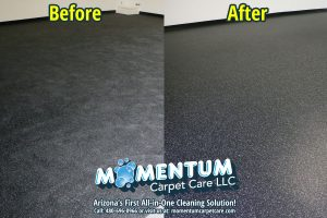 Before and After - Rubber Cleaning and Sealing Job