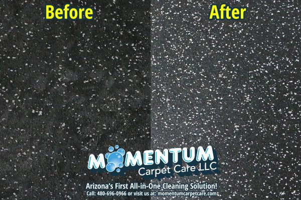 Before and After – Rubber Cleaning and Sealing Job