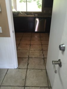 Before - Tile and Grout Cleaning Service