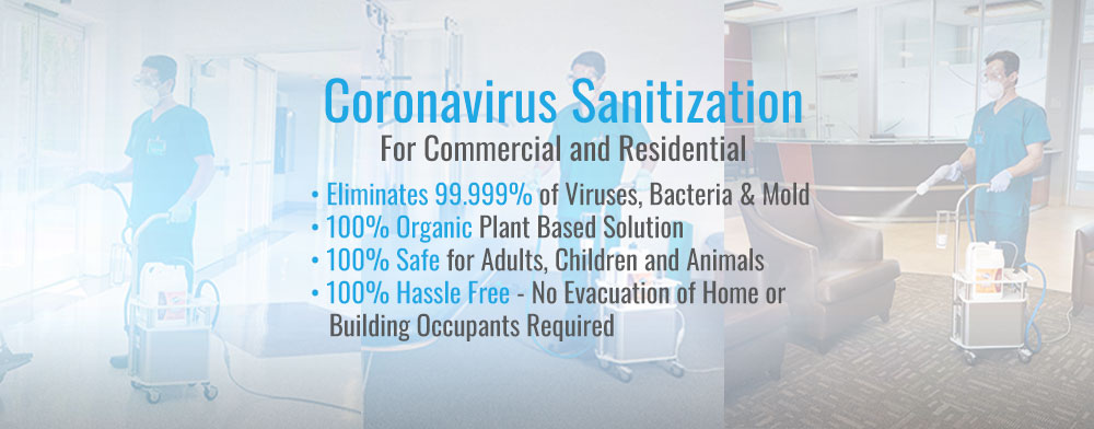 Coronavirus Disinfection of Phoenix Commercial and Residential Properties a Must Needed Service