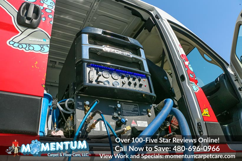 Prochem Everest 870 HP Truck Mount Carpet Cleaning Service