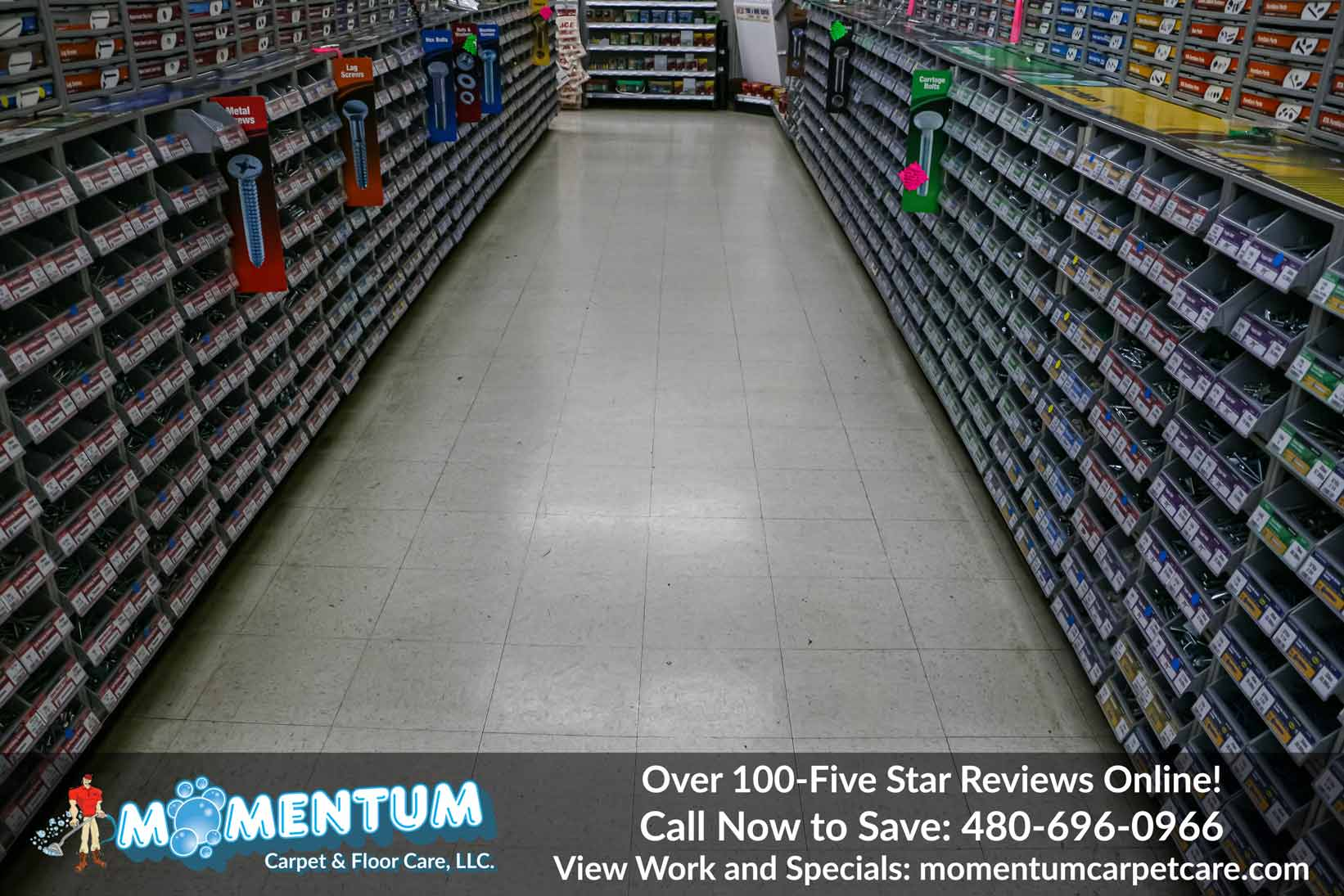 Industrial Commercial Floor Cleaning